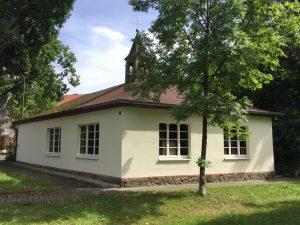 Außenansicht Kapelle Heilig Kreuz Radeburg