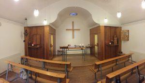Kapelle Radeburg Innenansicht